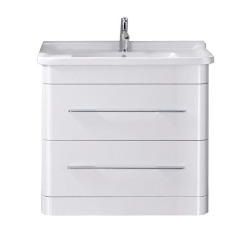 Eclipse 800mm Floor Standing Cabinet & Basin - 1 Tap Hole
